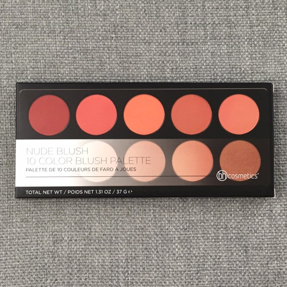 BH Cosmetics Other - NWT BH Cosmetics 10 color brush palette